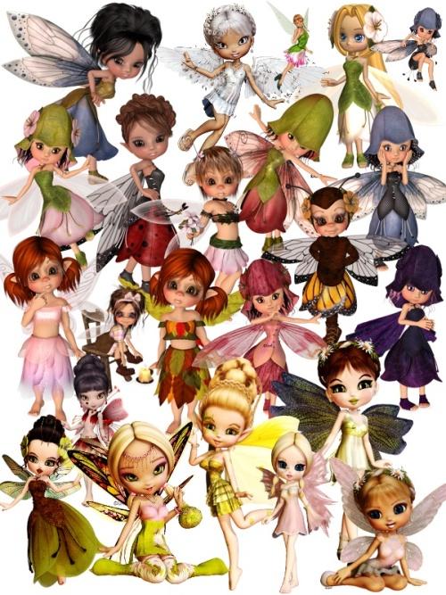 Клипарт Маленькие феи