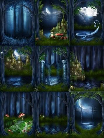 Сказочные фоны скачать бесплатно