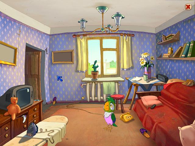 Попугай Кеша - Уроки внимательности и аккуратности - игра скачать бесплатно