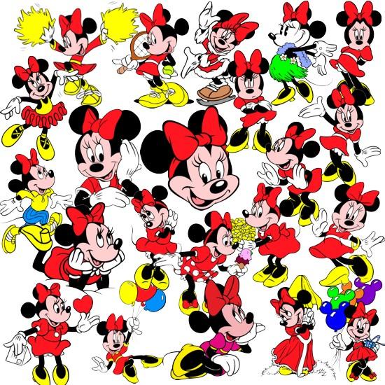 Mini Mouse - клипарт скачать бесплатно