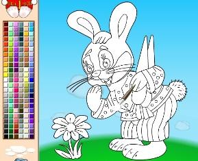 раскраска онлайн