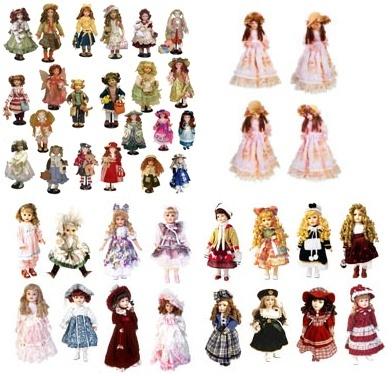 Клипарт Куклы