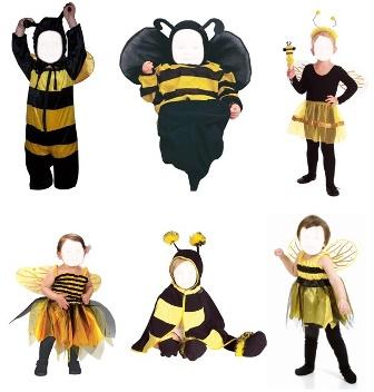 Шаблоны для малышей Пчёлка