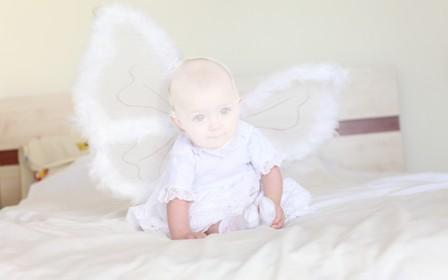 Шаблон для фото Маленький ангел