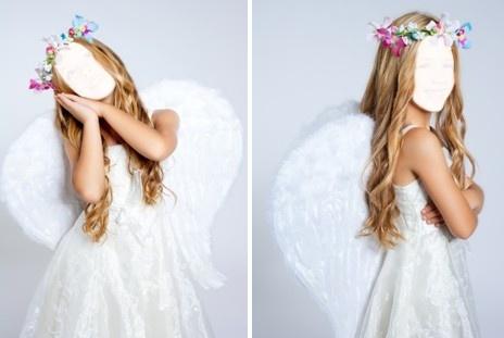 Шаблоны для девочек Ангел