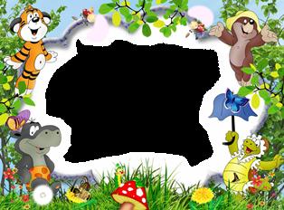 детская рамка png