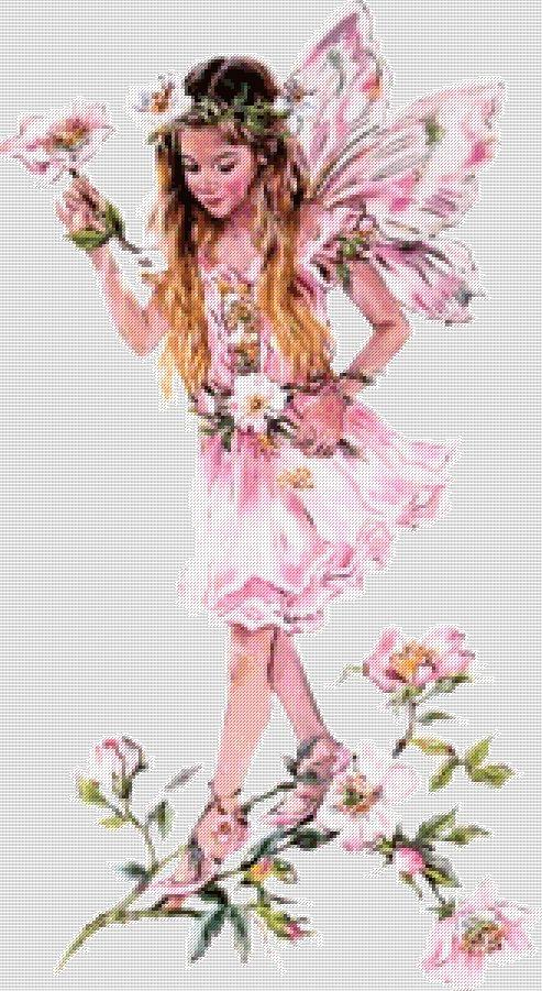 Схема - Фея цветов