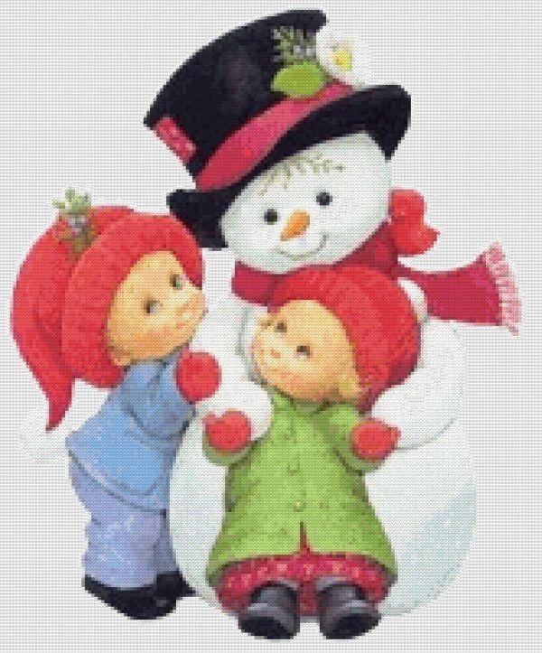 Схема - Снеговик