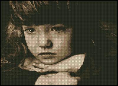 Схема - Девочка